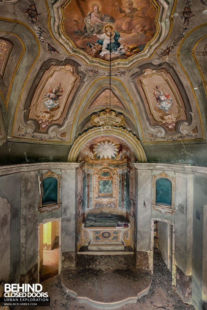 Villa Cripta, Italy - The chapel above the crypt