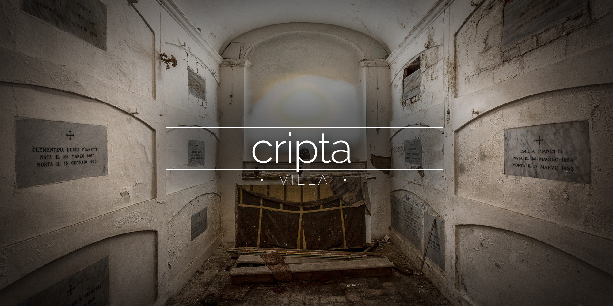Villa Cripta, Italy - House with a crypt