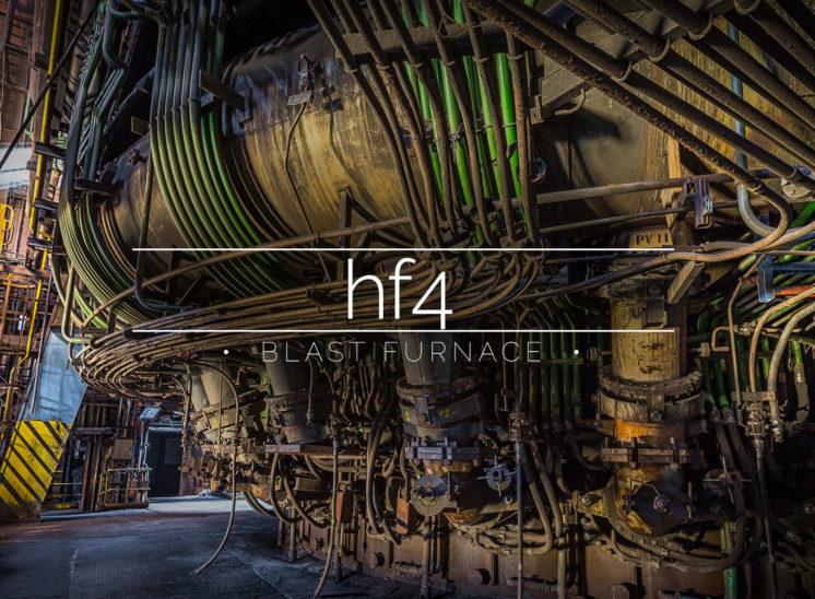HF4 Blast Furnace, Charleroi, Belgium