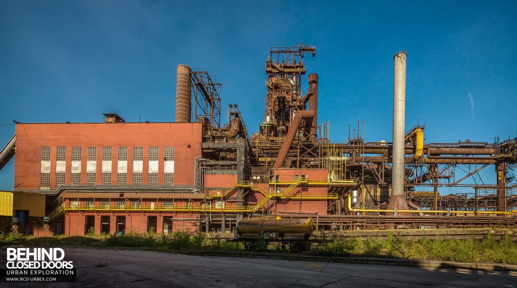 HF4 Power Plant and Blast Furnace