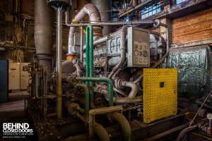 HF4 Blower House, Belgium - Backup diesel generator