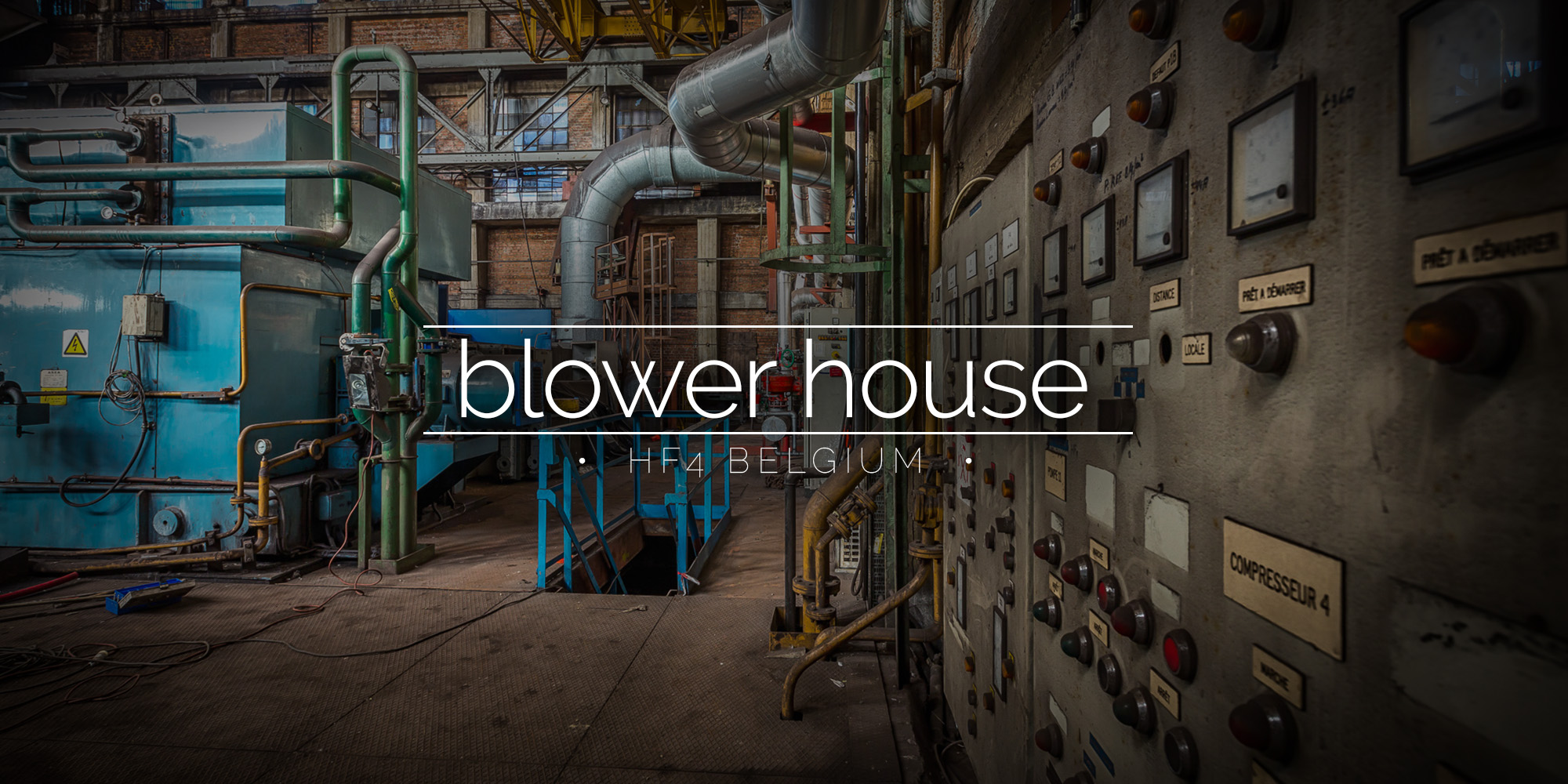 HF4 Blast Furnace Turbo Blower House, Belgium