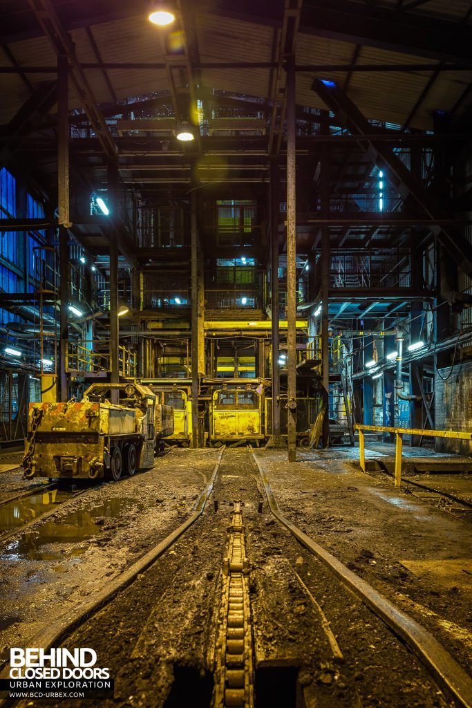 Kellingley Colliery - Shaft 1 railway