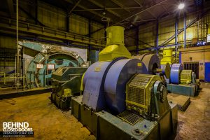 Kellingley Colliery - Winding gear