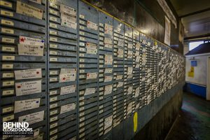 Kellingley Colliery - Clocking in cards