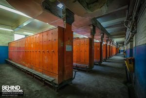 Kellingley Colliery - Locker rooms