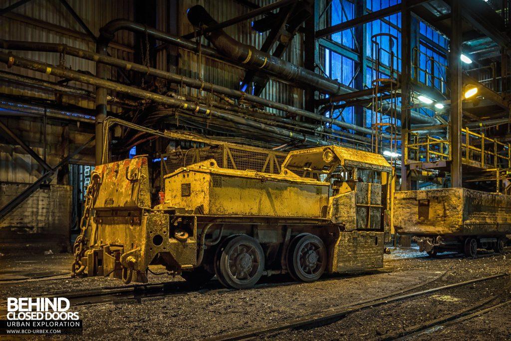 Kellingley - Locomotive at shaft 1