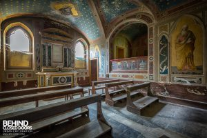Palace Casino, Italy - The chapel