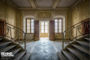 Palace Casino, Italy - View from between the stairs