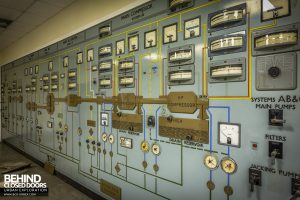 RAE Bedford Control Room - Dials and gauges