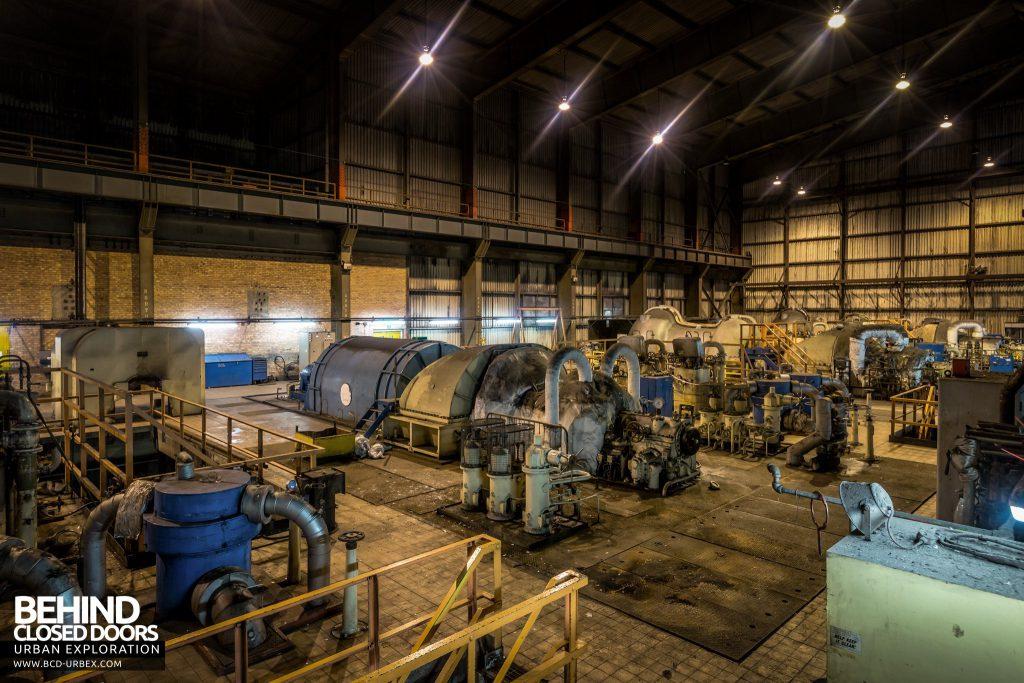 Redcar Steelworks Power Station - Turbine Hall