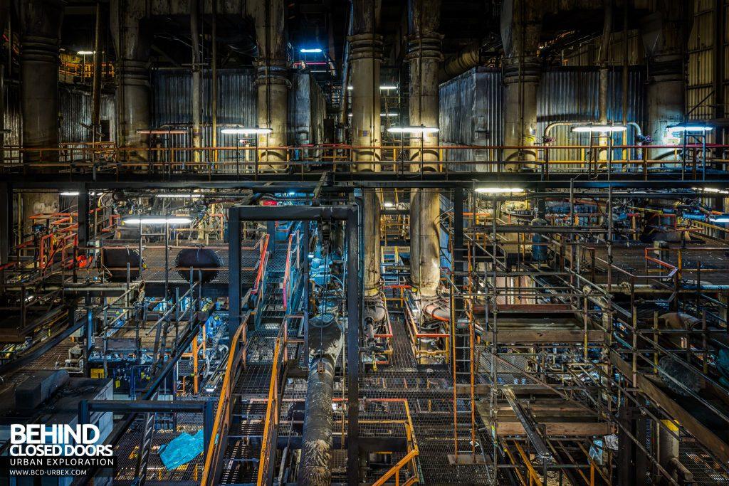 Redcar Steelworks Power Station - Boiler House