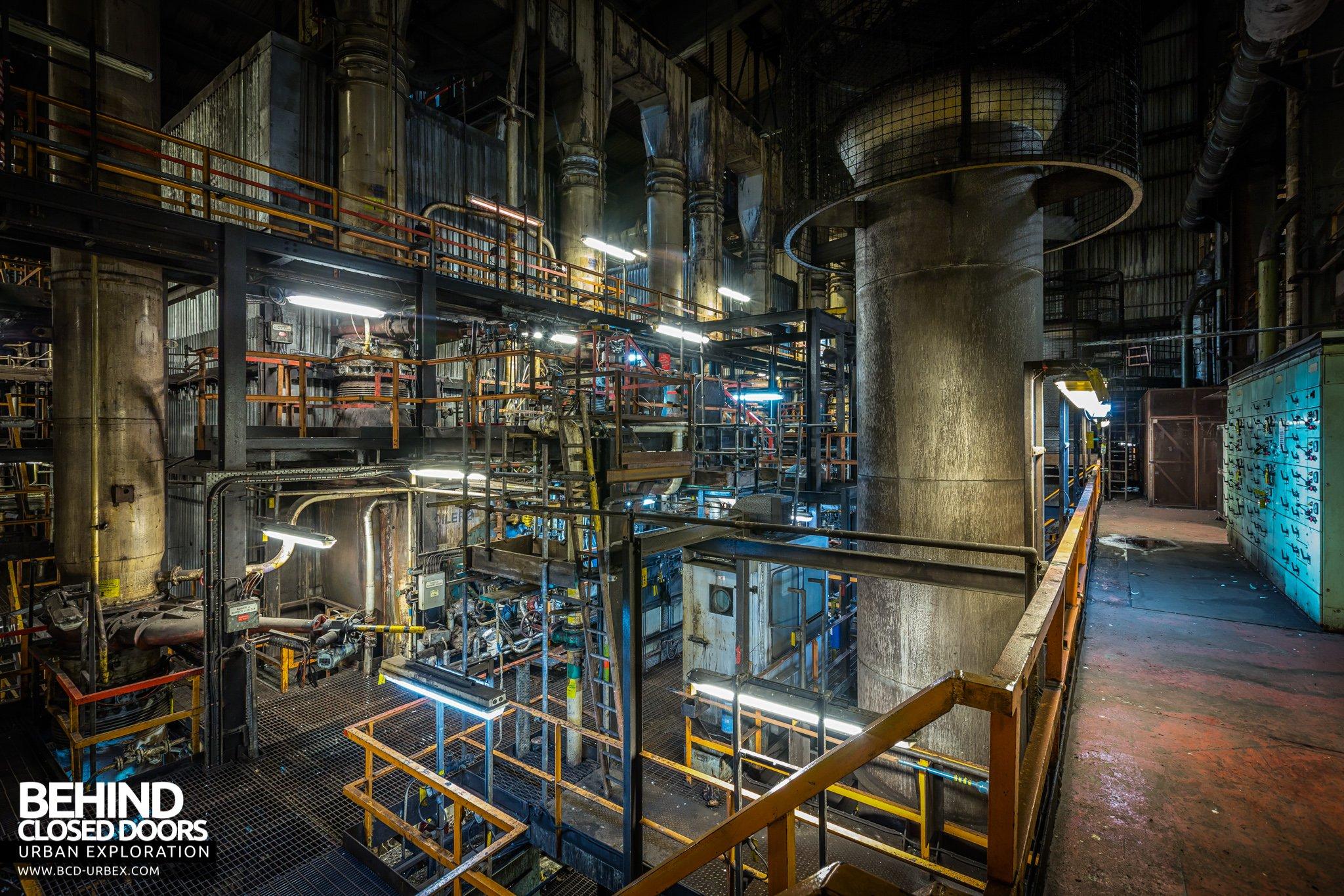 Redcar Steelworks Power Station, Teesside, UK » Urbex | Behind ...