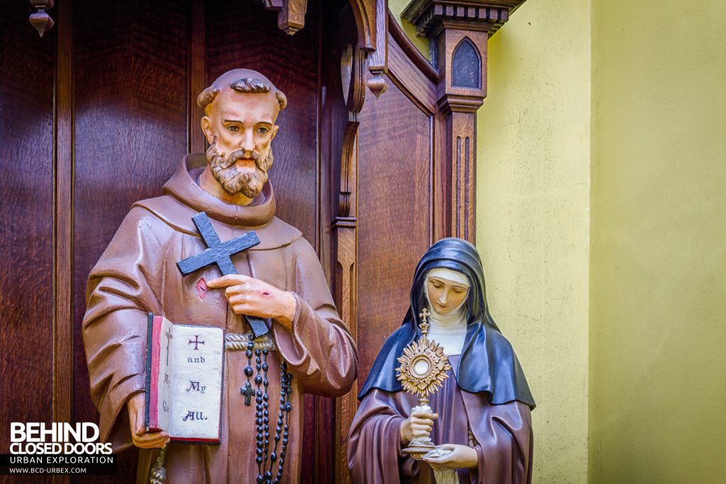 St Joseph's Convent of the Poor Clares - Joseph and Mary