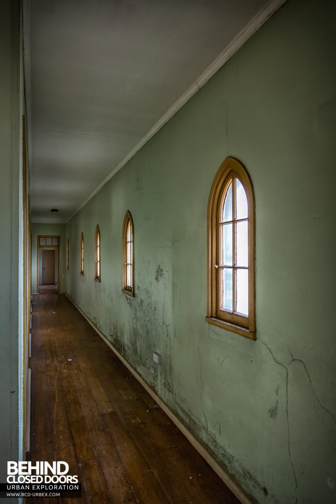 St Joseph's Convent of the Poor Clares - Green corridor