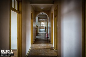 St Joseph's Convent of the Poor Clares - Corridor