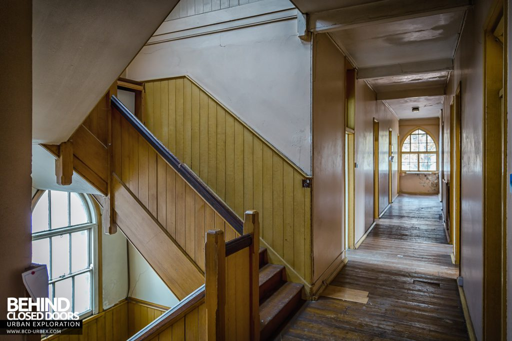 St Joseph's Convent of the Poor Clares - Staircase