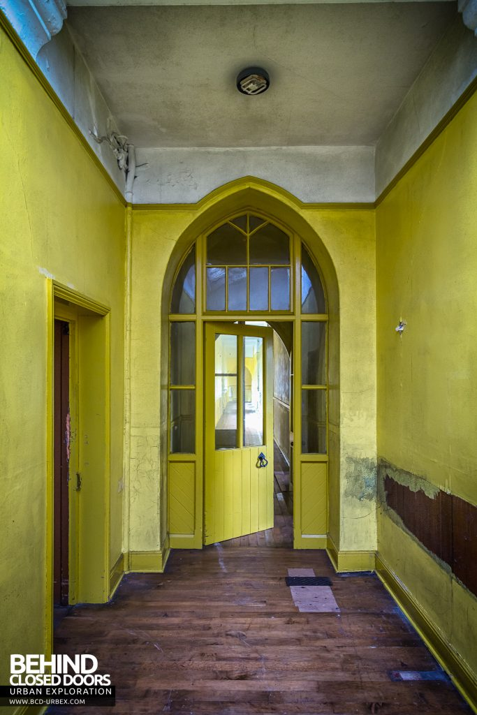 St Joseph's Convent of the Poor Clares - Arched doorway