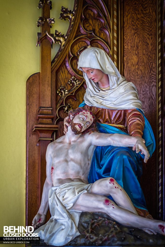 St Joseph's Convent of the Poor Clares - Jesus and St Mary