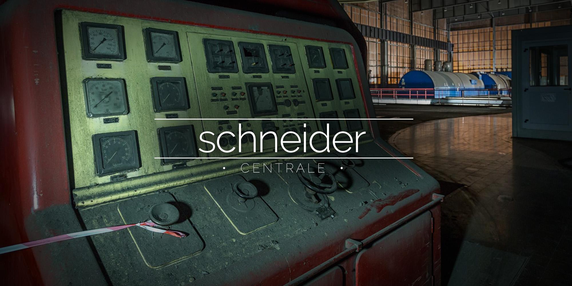 Centrale de Schneider, France