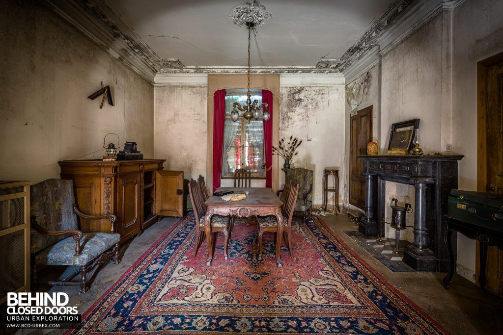 Manoir DP, Belgium - Living room / dining room