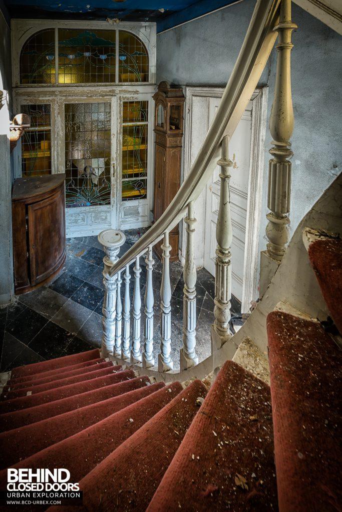 Manoir DP, Belgium - On the stairs