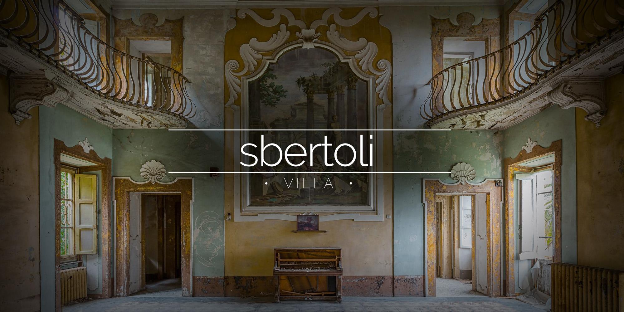 Villa Sbertolli, Italy