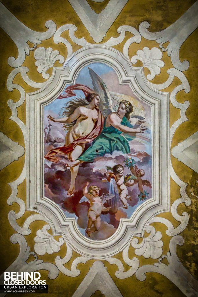 Villa Sbertolli, Italy - Ceiling painting