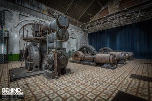 Central Electrique Ohm, Belgium - All three generators