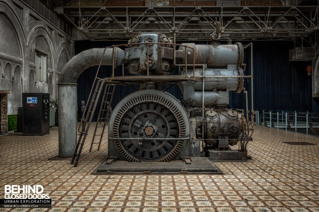 Central Electrique Ohm, Belgium - One of the old generators