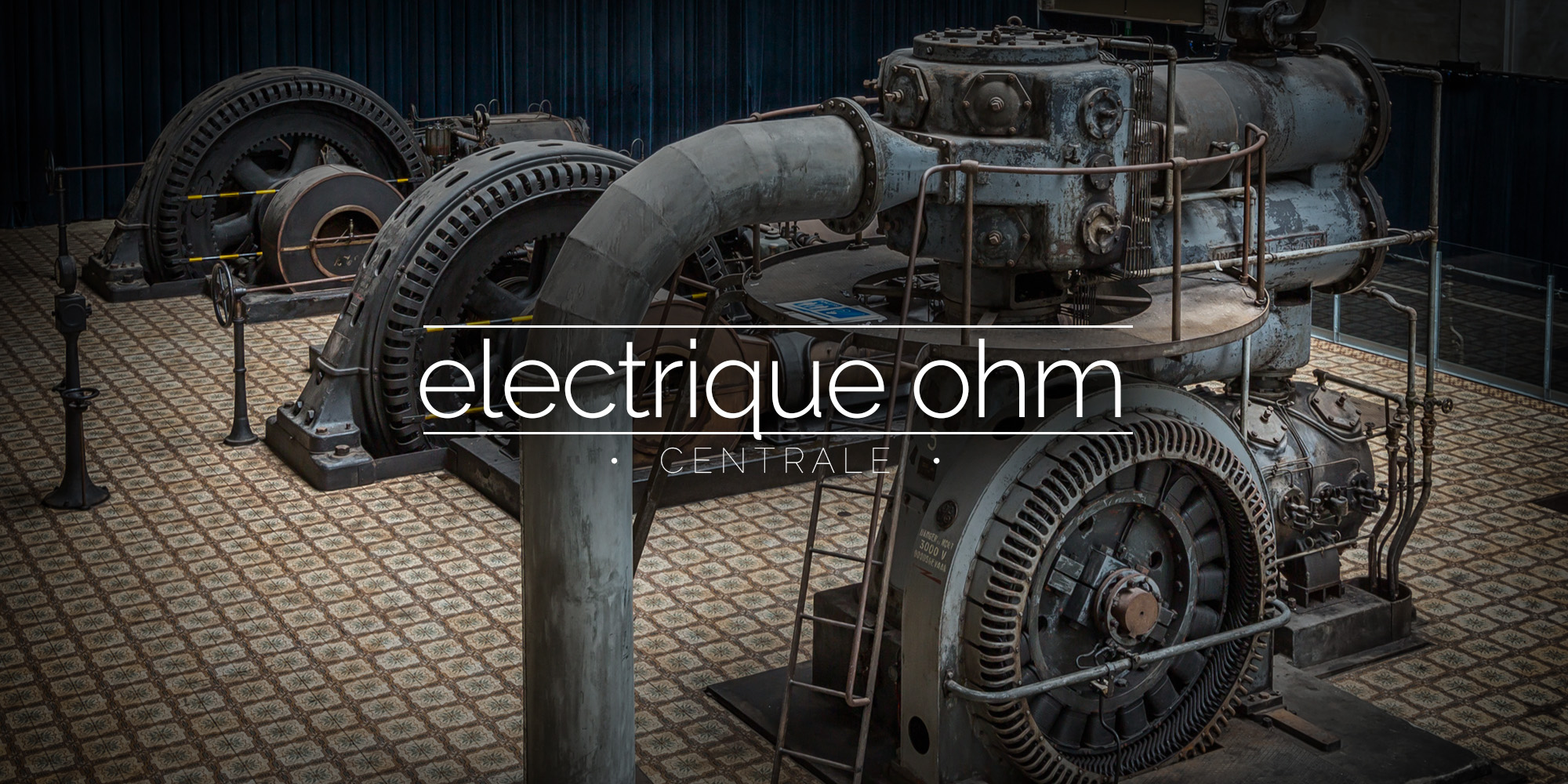 Central Electrique Ohm, Power Station, Belgium