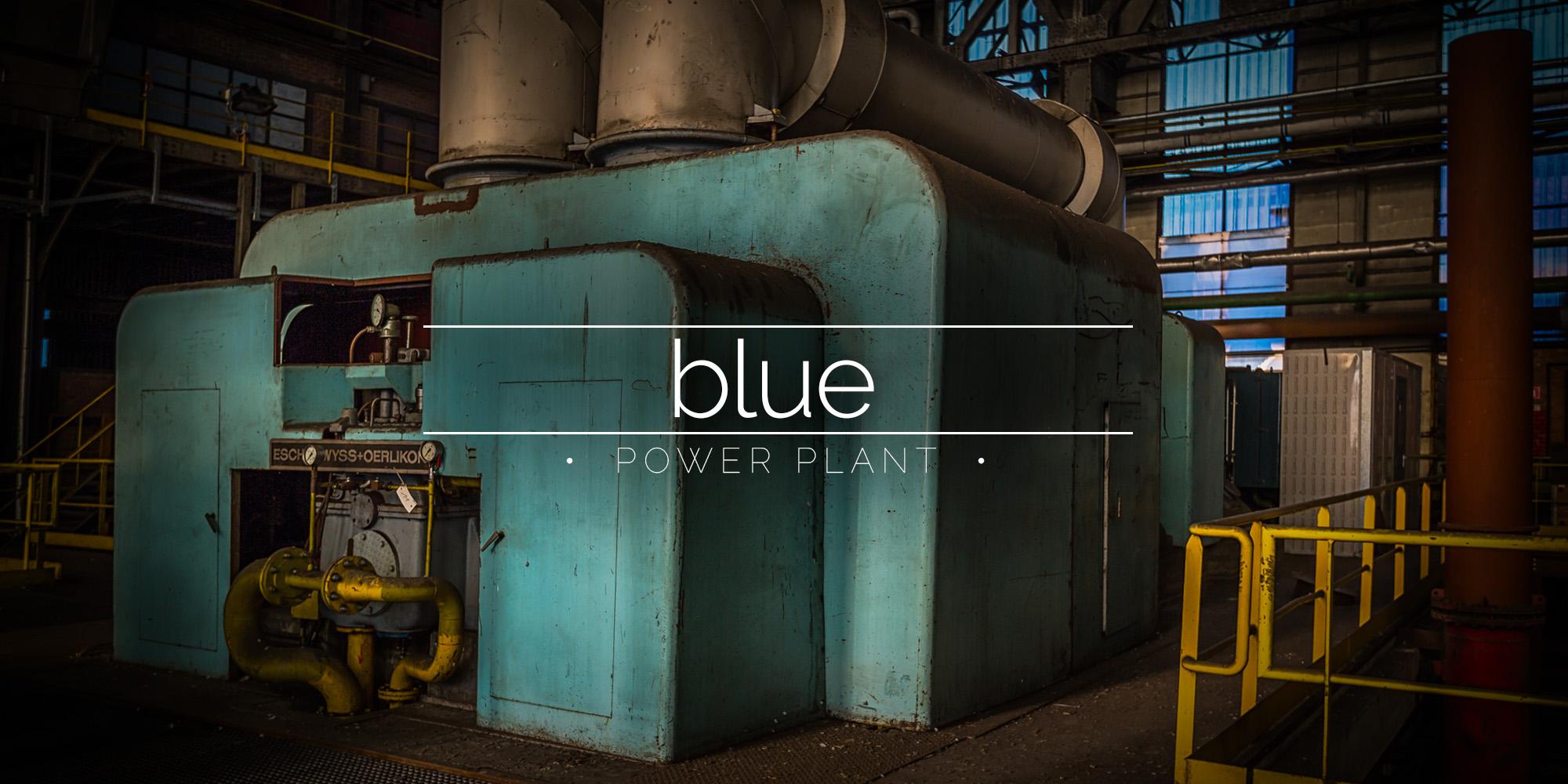 Cockerill-Sambre Coke Works Power Station, Charleroi, Belgium