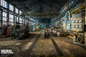 Blue Power Plant - The turbine hall