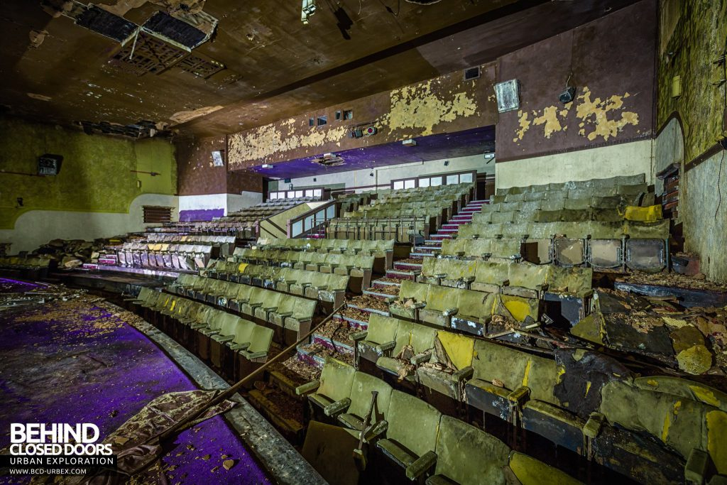 Danilo Cinema, Hinckley - View from the stage