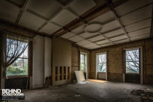Doughty House - Stripped out room
