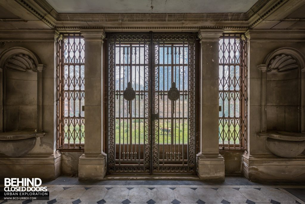 Doughty House, Richmond - Ironwork over doors and windows