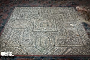 Doughty House - Floor mosaic detail