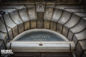 Doughty House - Above door