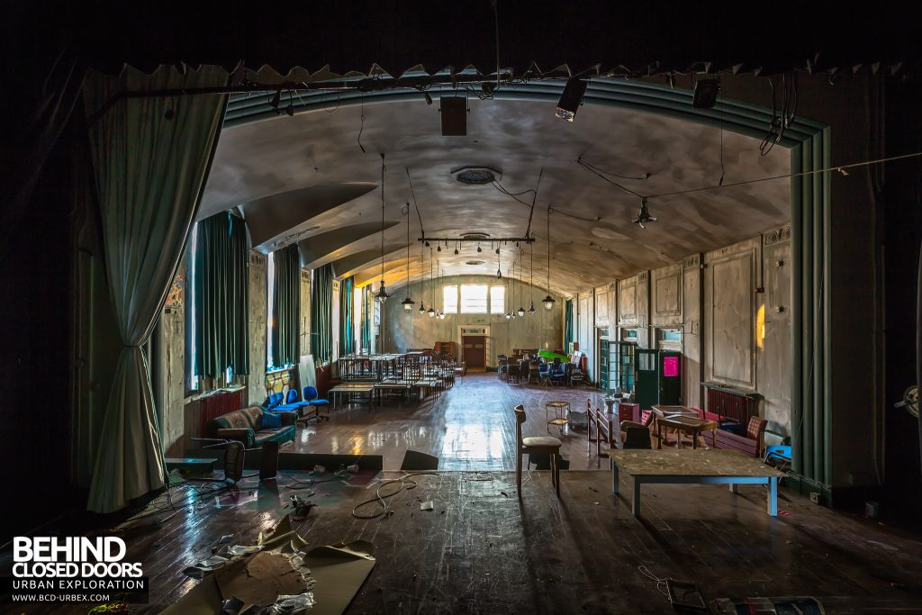 Holly Lodge, Liverpool - View of hall from the stage