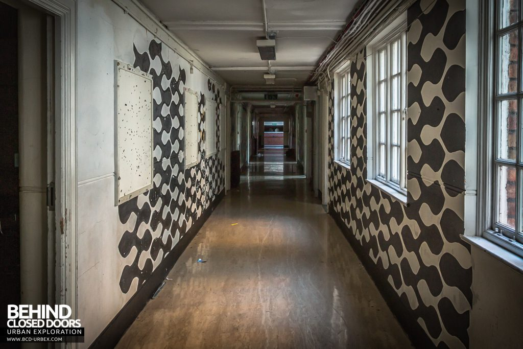 Holly Lodge, Liverpool - One of the funky corridors
