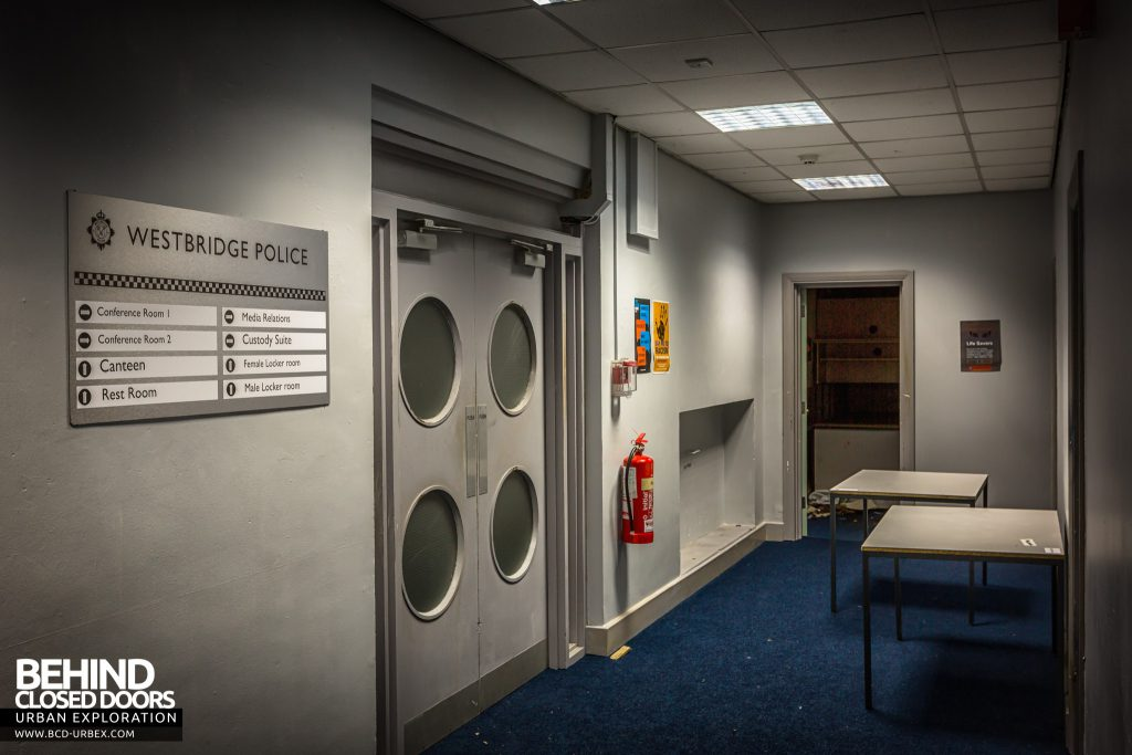Holly Lodge, Liverpool - Set for Westbridge Police Station