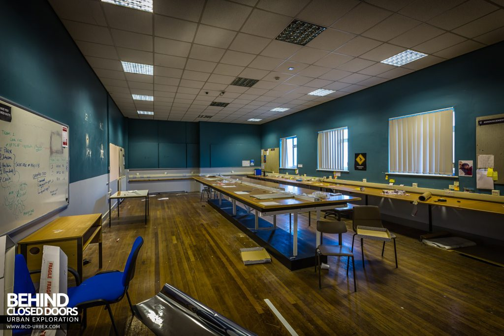 Holly Lodge, Liverpool - Set for police incident room