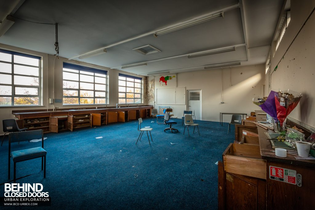 Holly Lodge, Liverpool - Most of the classrooms were pretty stripped