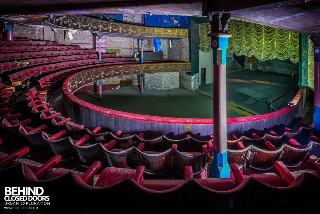 Theatre Royal, Hyde - Seats on the circle level
