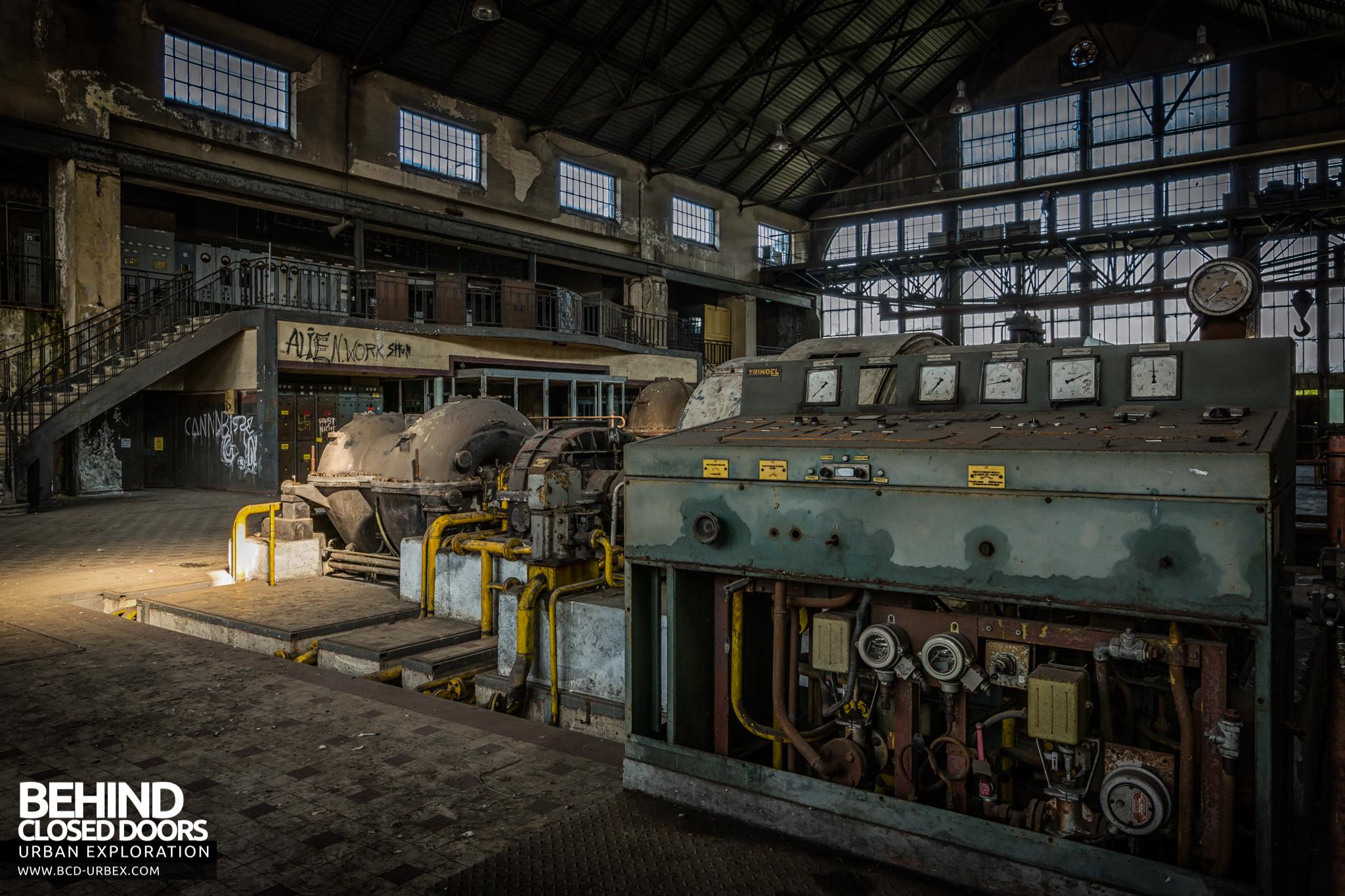 Alienworks Abandoned Power Plant France 187 Urbex