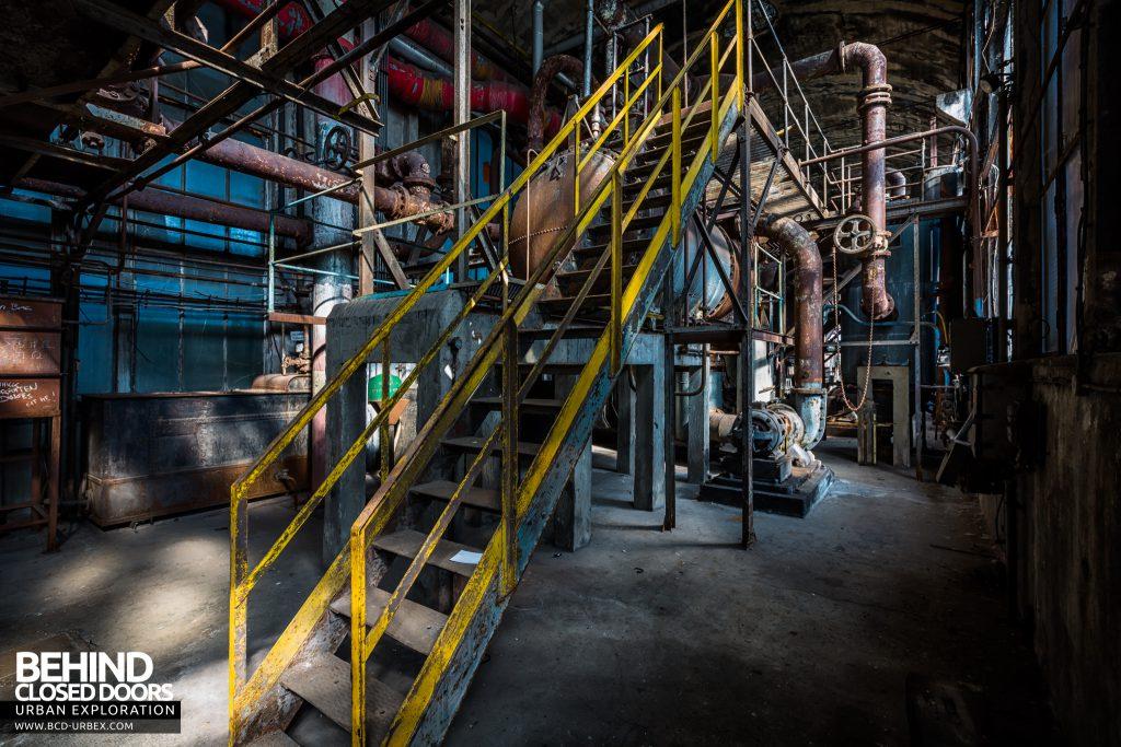Alienworks - Equipment in the boiler house