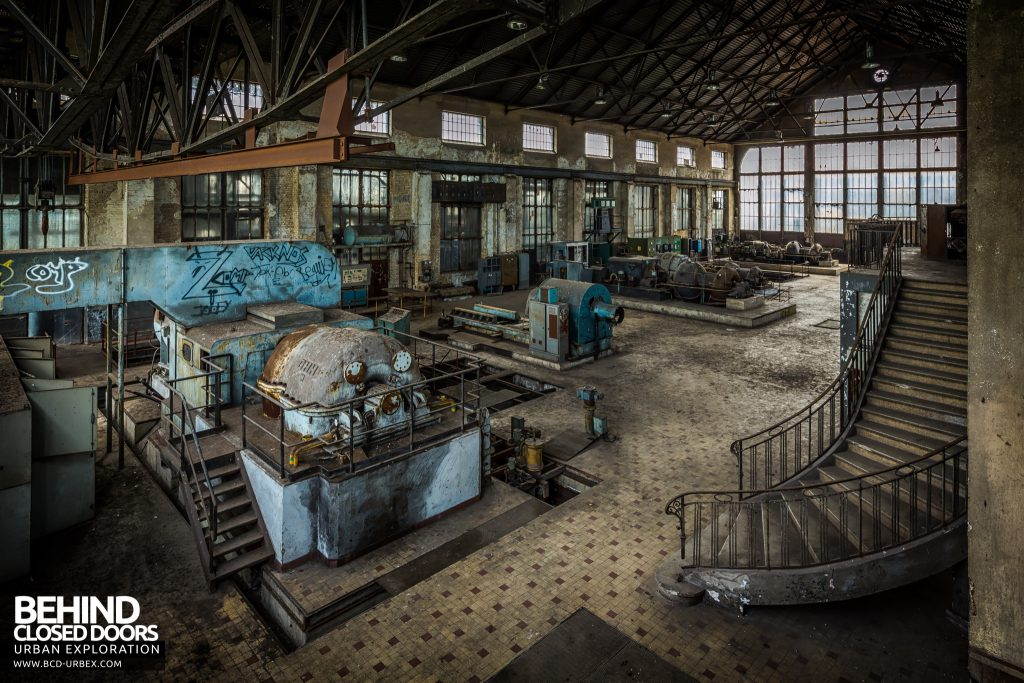 Alienworks - View down the turbine hall