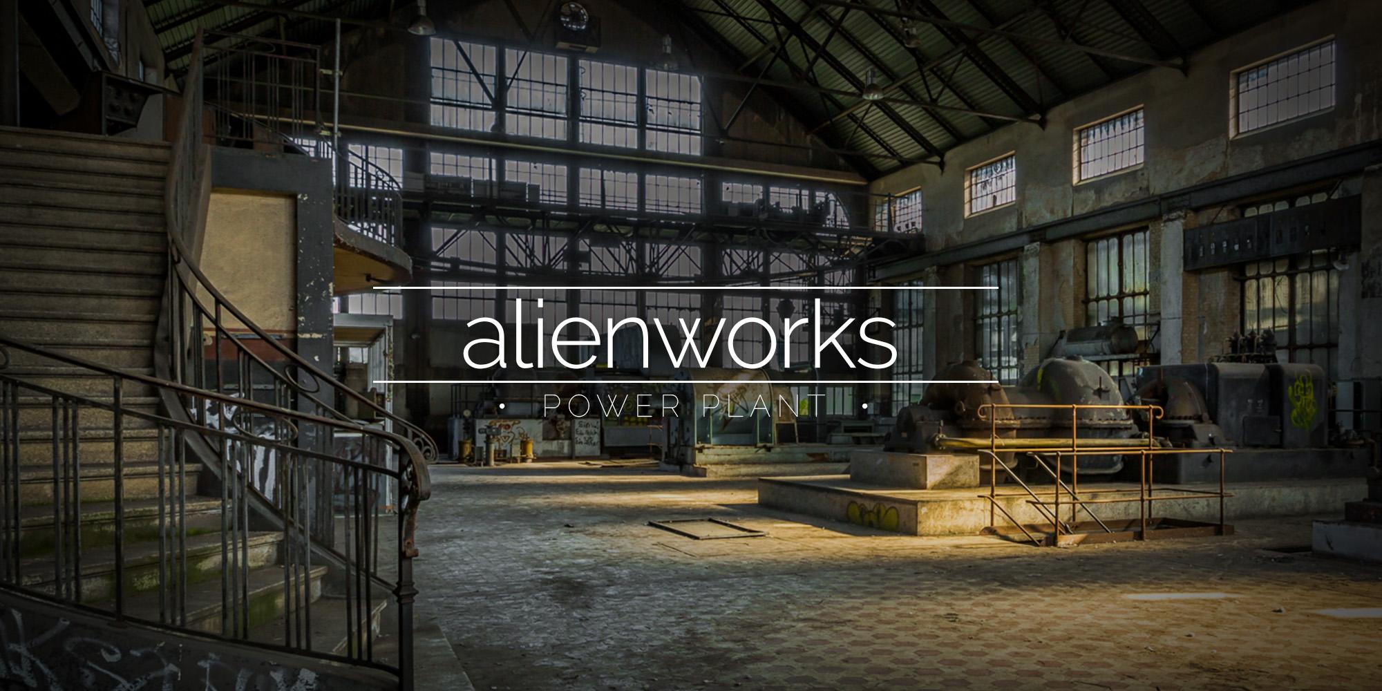 Alienworks Power Plant, Belgium