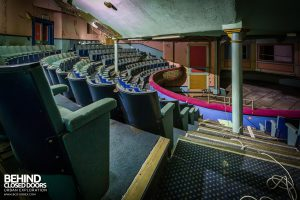Grand Theatre - Rows of seats