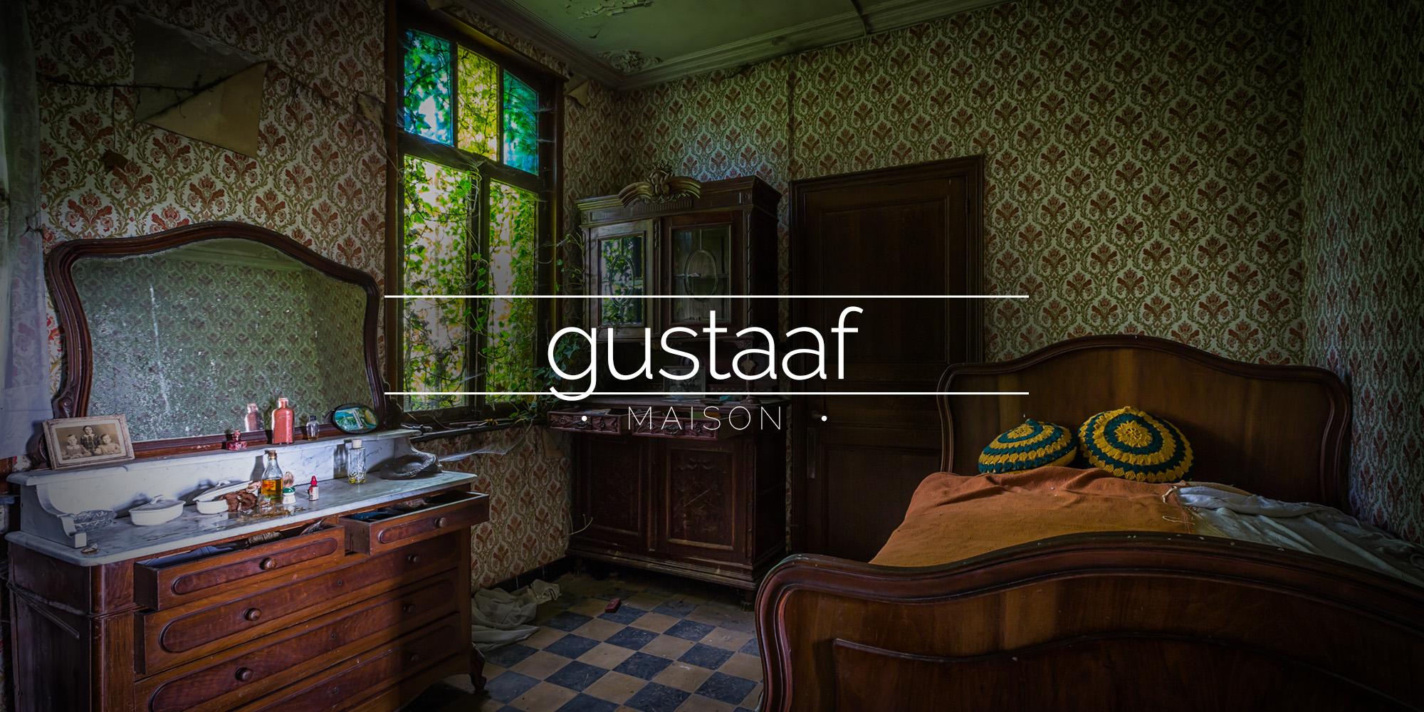 Maison Gustaaf Abandoned House Belgium